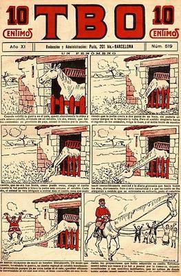 TBO (1917-1938) (Cuaderno) #519