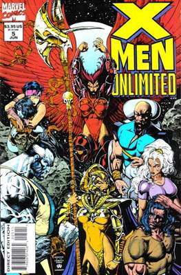 X-Men Unlimited Vol 1 (1993-2003) (Comic-Book) #5