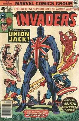 The Invaders (Comic Book. 1975 - 1979) #8