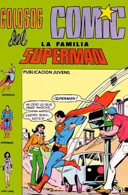Colosos del Cómic: La familia Superman #8