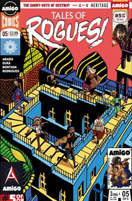 Tales of Rogues! (Comic-book) #5
