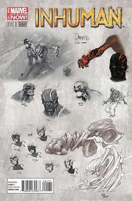Inhuman (2014-2015 Variant Cover) (Comic Book) #1.2