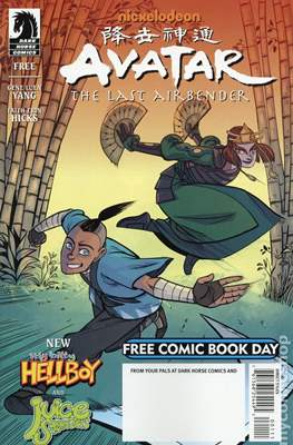 Avatar The Last Airbender - Free Comic Book Day 2014
