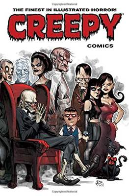 Creepy Comics (Paperback) #1