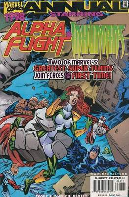Alpha Flight & Inhumans Annual 1998