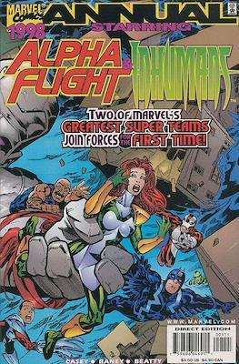 Alpha Flight & Inhumans Annual 1998