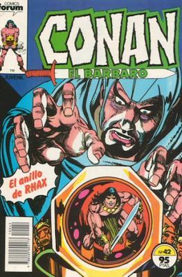 Conan el Bárbaro (1983-1994) (Grapa. 19x27. 36/32/24 páginas. Color.) #42
