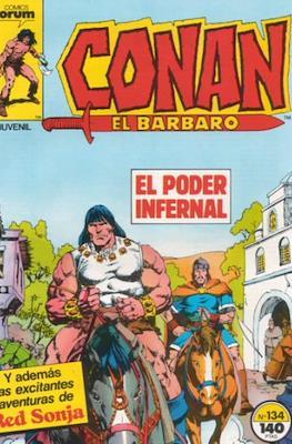 Conan el Bárbaro (1983-1994) (Grapa 24-36 pp) #134