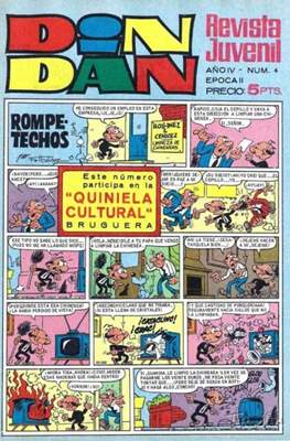 Din Dan 2ª época (1968-1975) (Grapa) #6