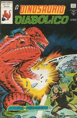 El Dinosaurio Diabólico #4