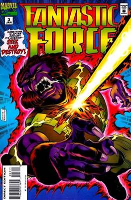 Fantastic Force Vol. 1 (1994-1996) (Saddle-stitched) #3