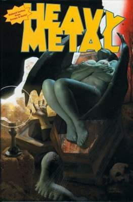 Heavy Metal - Richard Corben from Creepy & Eerie!