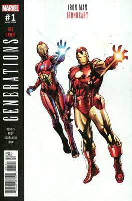 Generations - The Iron Iron Man and Ironheart (Variant Cover)