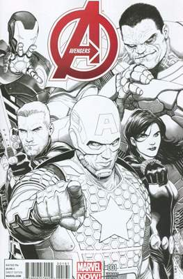 Avengers Vol. 5 (2013-2015 Variant Covers) #1.2