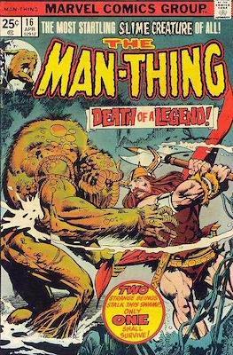 The Man-Thing Vol. 1 (1974-1975) (Comic Book) #16