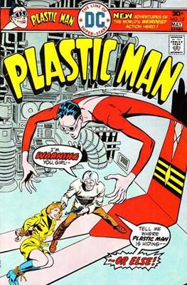 Plastic Man vol.2 (1966-1977) (Grapa, 32 págs.) #12