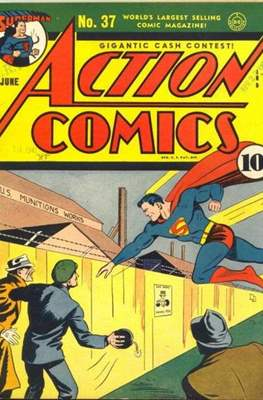 Action Comics Vol. 1 (1938-2011; 2016-) (Comic Book) #37