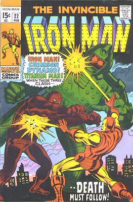 Iron Man Vol. 1 (1968-1996) (Comic book) #22