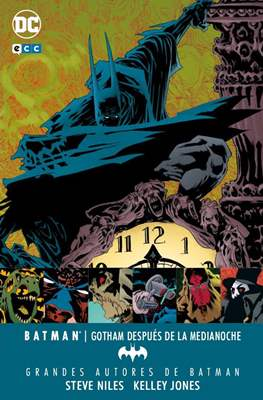 Grandes Autores de Batman: Steve Niles y Kelley Jones - Batman: Gotham después de la medianoche