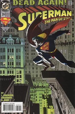 Superman: The Man of Steel (Comic book) #39