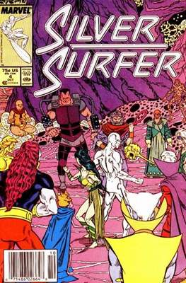 Silver Surfer Vol. 3 (1987-1998) #4
