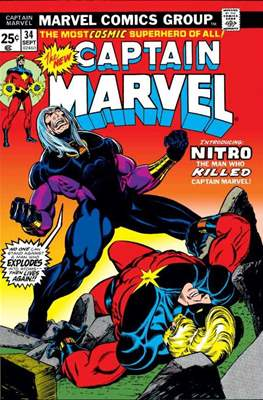 Captain Marvel Vol. 1 #34