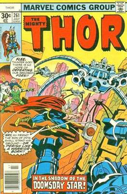 Journey into Mystery / Thor Vol 1 (Comic Book) #261