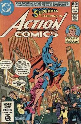 Action Comics Vol. 1 (1938-2011; 2016-) (Comic Book) #520