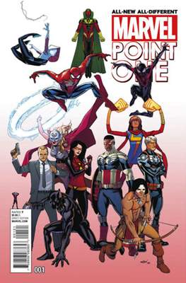 All-New, All-Different Marvel Point One (Variant Cover) #1.1