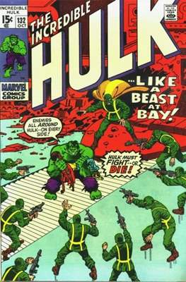 The Incredible Hulk Vol.1 (Saddle-stitched. 1962-1999) #132