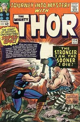 Journey into Mystery / Thor Vol 1 (Comic Book) #114