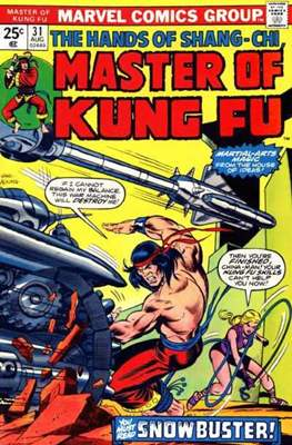Master of Kung Fu (Comic Book. 1974 - 1983. Continued from Special Marvel Edition #16) #31