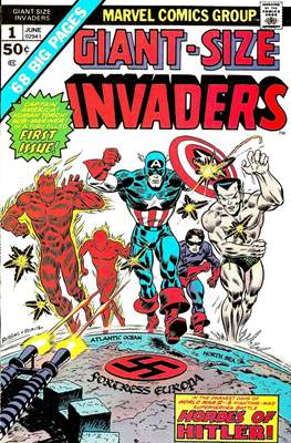 Giant-Size Invaders (Saddle-stitched) #1