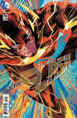 The Flash Vol. 5 (2016- Variant Cover) (Comic Book) #750