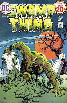 Swamp Thing (1972 1st Series) (Comic Book. 1972 - 1976) #13