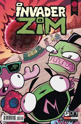 Invader Zim (Comic Book) #45