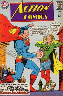 Action Comics Vol. 1 (1938-2011; 2016-) (Comic Book) #354