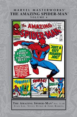 Marvel Masterworks: The Amazing Spider-Man (Hardcover) #4