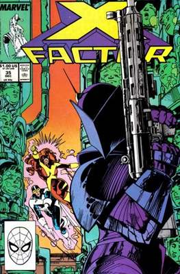 X-Factor Vol. 1 (1986-1998) (Comic Book) #35