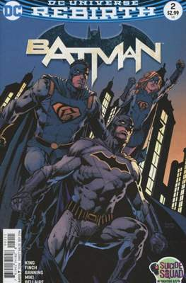 Batman Vol. 3 (2016-) (Comic-book) #2
