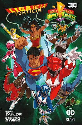 Liga de la Justicia / Power Rangers (Cartoné)