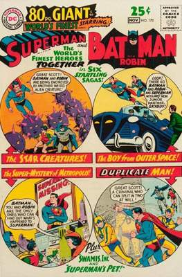 World's Finest Comics (1941-1986) (Comic Book) #170