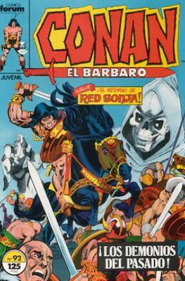 Conan el Bárbaro (1983-1994) #92