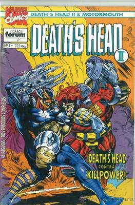 Death's Head II / Motormouth (1993-1994) (Grapa. 17x26. 48 páginas. Color.) #5