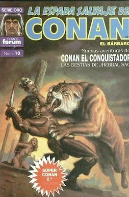 Super Conan. La Espada Salvaje de Conan (Cartoné. B/N. (1989). 2ª Edición.) #10