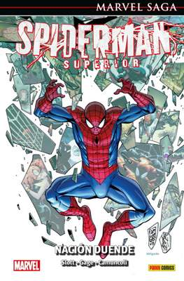 Marvel Saga: El Asombroso Spiderman (Cartoné) #44