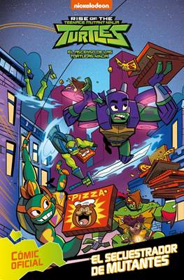 Rise of the Teenage Mutant Ninja Turtles - El ascenso de las Tortugas Ninja (Cartoné 80 pp) #2