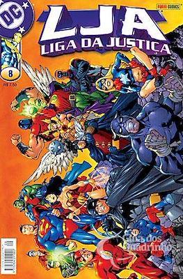 Liga da Justiça. 1ª série (Brochado. 100 pp) #8