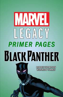 Black Panther: Marvel Legacy Primer Pages