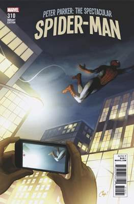 Peter Parker: The Spectacular Spider-Man (2017-2018 Variant Cover) (Comic Book) #310